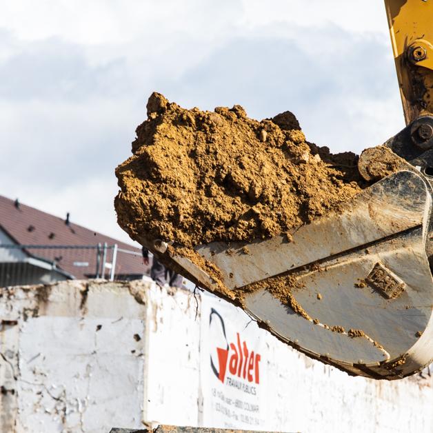 Alter possède des engins de chantier performant pour le terrassement